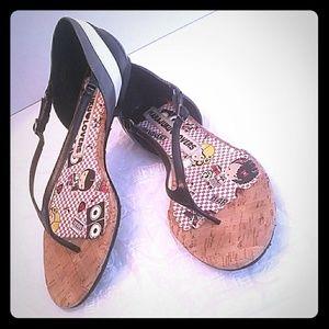Harajuku Lovers Women's Kroepel Thong Sandals Sz9